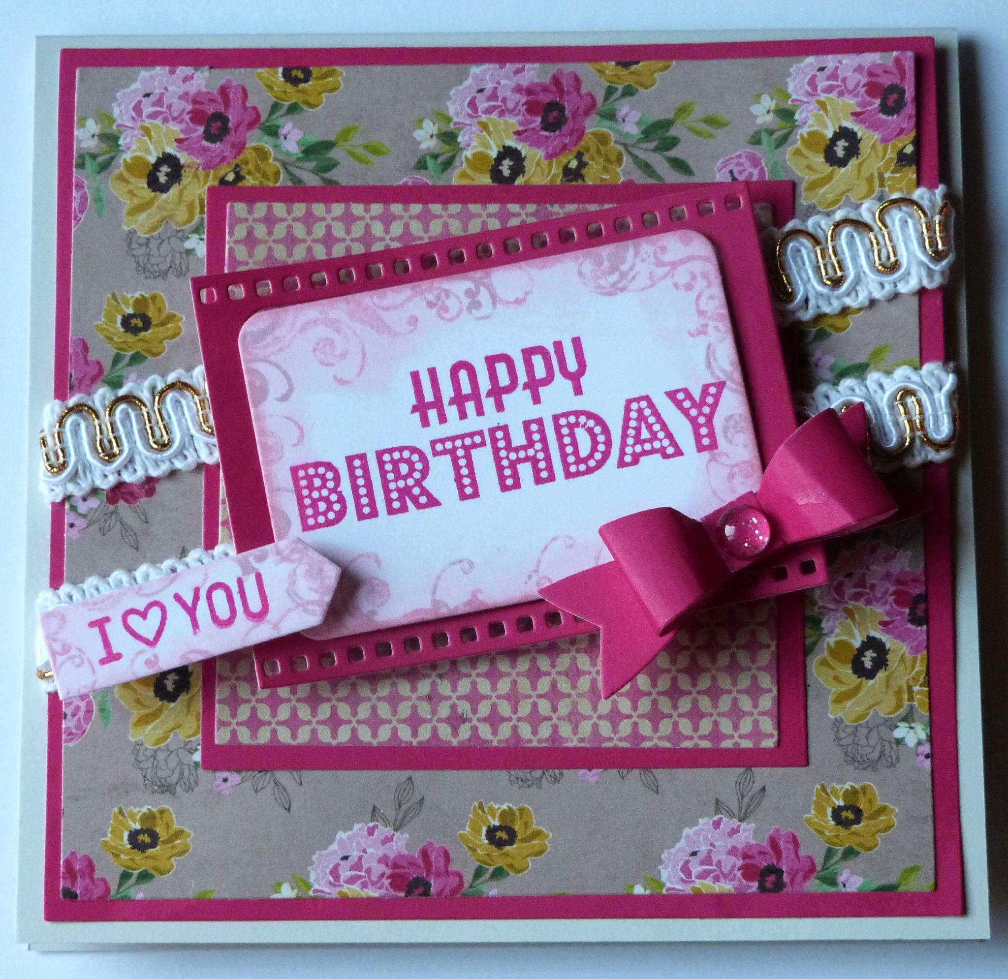 Birthday Card For My Niece Gangcraft
