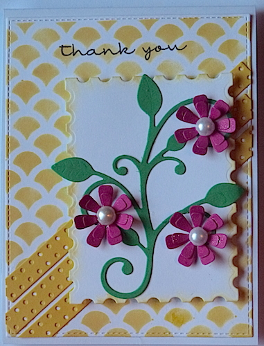 floral thank u